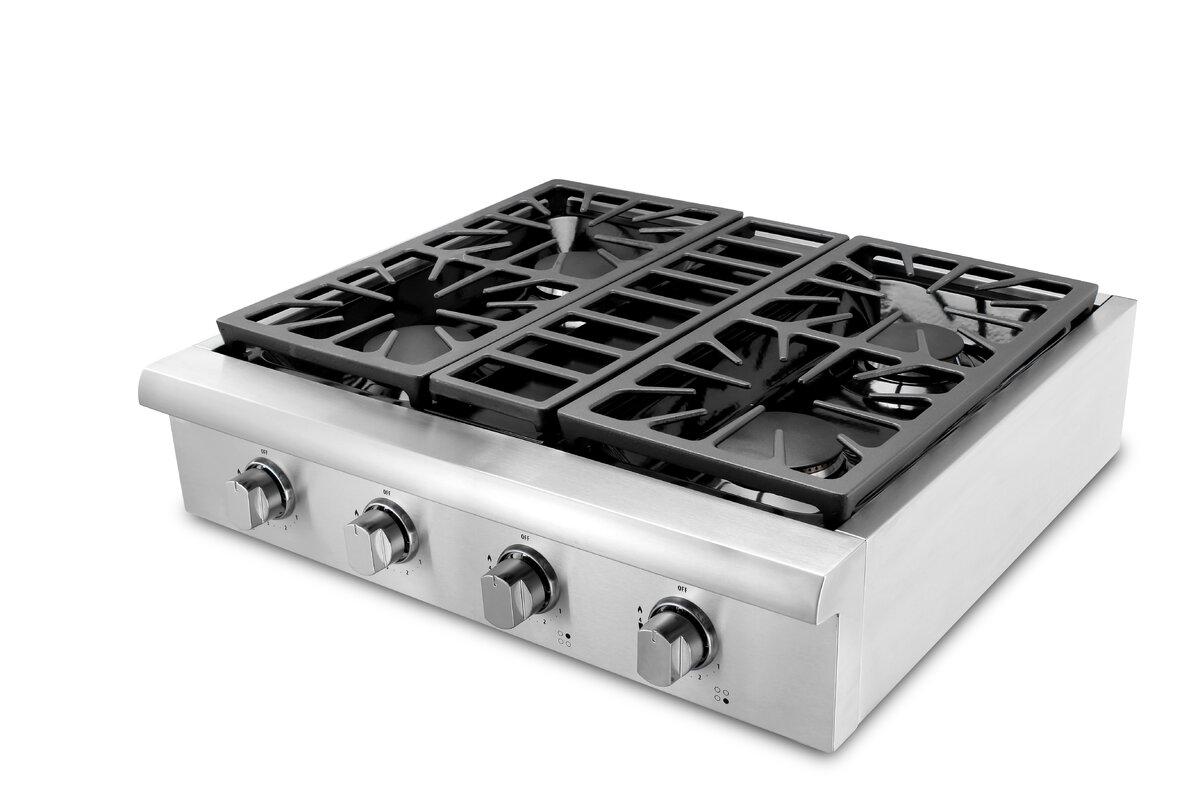 30 gas cooktop. Professional 30\ 30 Gas Cooktop E