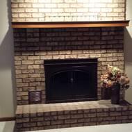 Image Of Fenwick Cabinet Style Steel Fireplace Doors In User