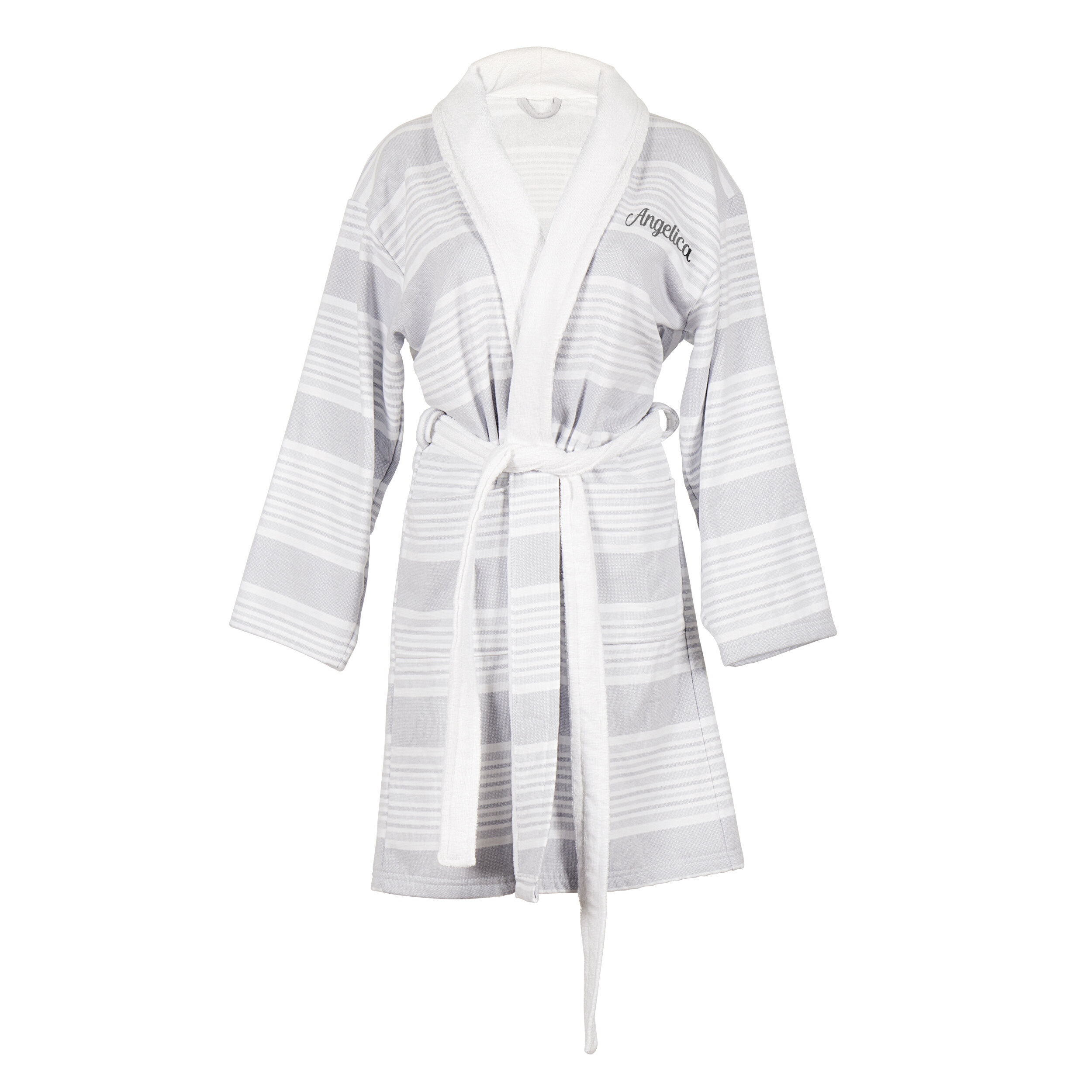 Cathys Concepts Personalized 100% Cotton Turkish Terry Cloth Bathrobe  207845daf