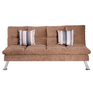 Marcie Fabric Reclining Sleeper Sofa With 2 Pillows