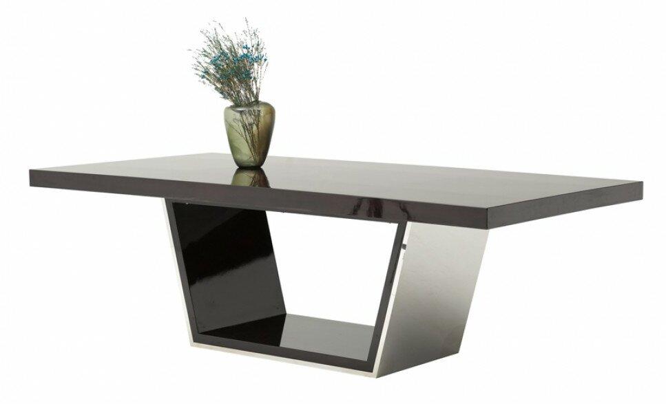 Orren Ellis Clower Metal Top Dining Table | Wayfair