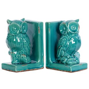 White Owl Bookends | Wayfair