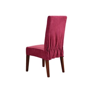Soft Suede Dining Chair Slipcover by Sure Fit