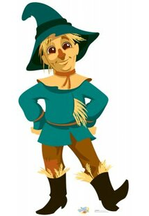 Wizard Of Oz Scarecrow Drawing