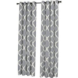 Muriel Luna Single Curtain Panel
