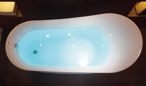 Freestanding Tub With Air Jets. Free Standing Air Bubble 68 88  x 32 5 Bathtub EAGO Reviews