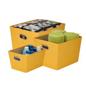 3-tlg. Aufbewahrungstaschen-Set von Honey Can Do