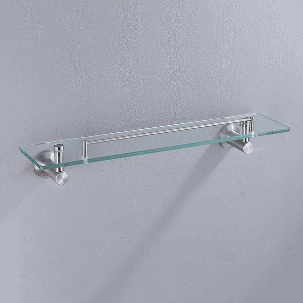Pleasant Wall Mounted Glass Shelf Wayfair Home Interior And Landscaping Oversignezvosmurscom