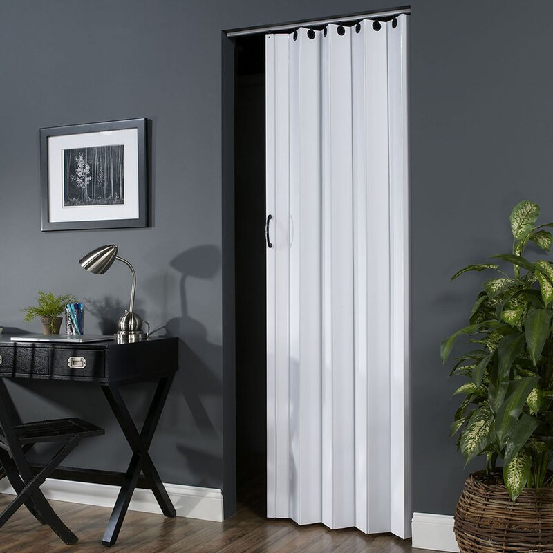 Spectrum Vinyl Accordion Interior Door