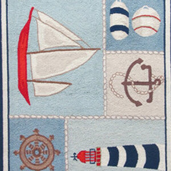 Nautical Rugs Baby u0026 Kidsu0027 Nautical Rugs Youu0027ll Love | Wayfair