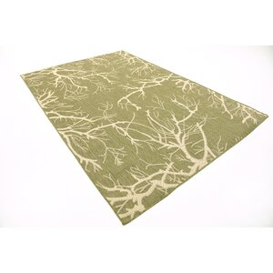 Tameka Green Outdoor Area Rug
