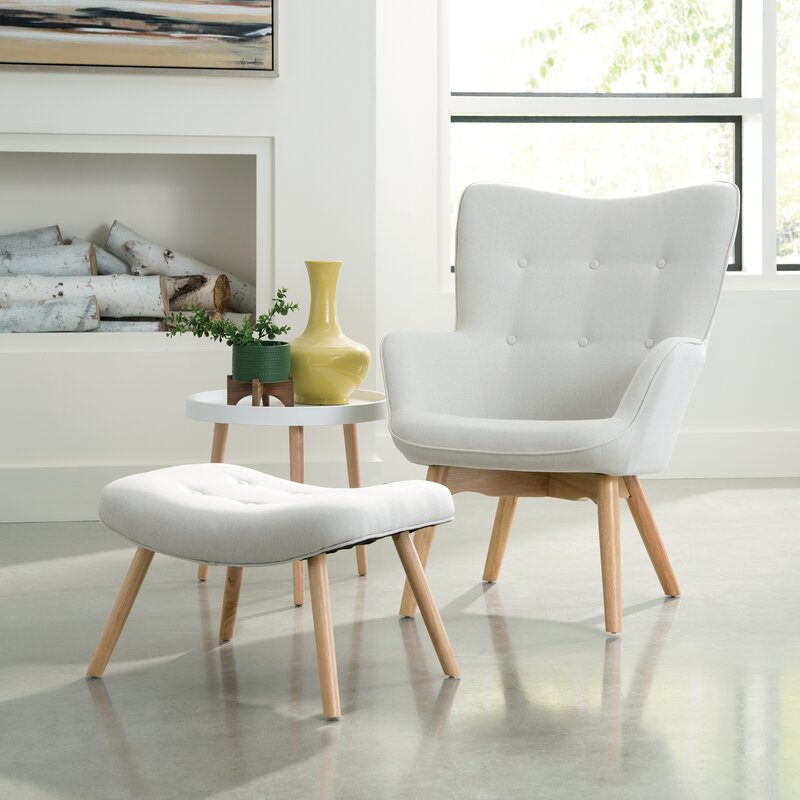 Excellent Bello Mid Century Modern Lounge Chair And Ottoman Caraccident5 Cool Chair Designs And Ideas Caraccident5Info
