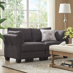 Camp Mabry Loveseat by Mercury Row