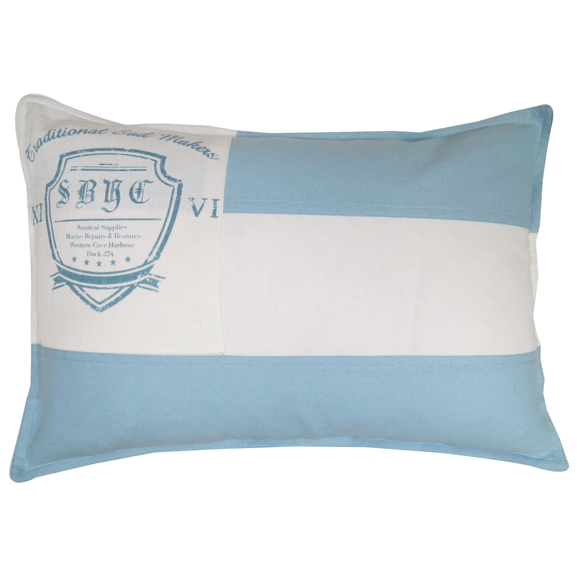 park b smith ltd vintage house sail maker cotton lumbar pillow wayfair