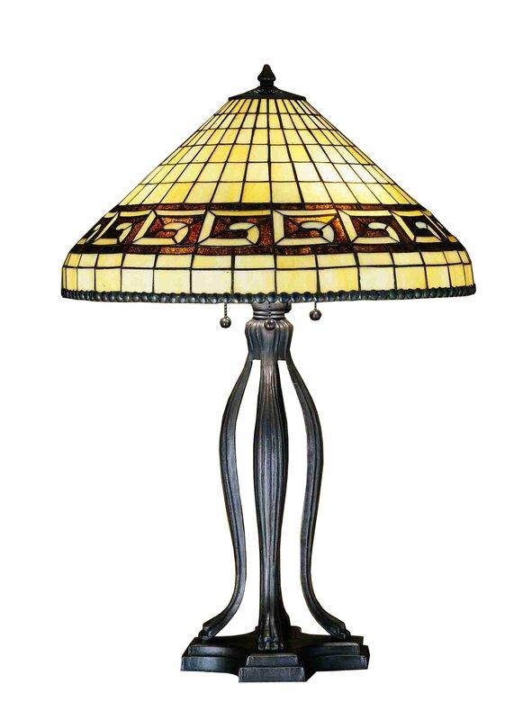"""Greek Key 30"""" Table Lamp"""