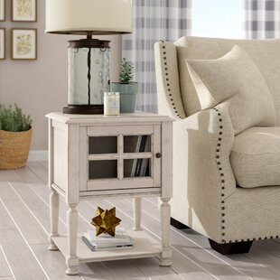 White Washed End Table | Wayfair