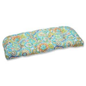 Kilroy Flowery Outdoor Loveseat Cushion