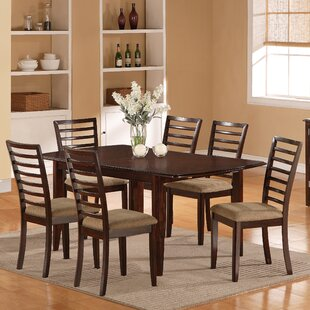 7 Piece Dining Set. By Wildon Home ®