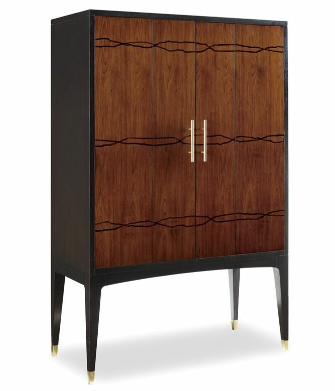 Brownstone Furniture Madison Bar Cabinet & Reviews | Wayfair