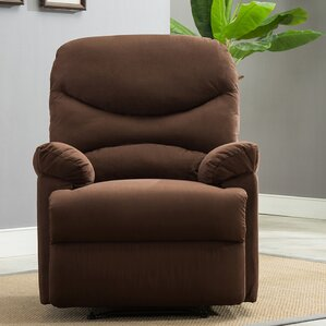 Microfiber Manual Lift Assist Recliner by Belleze