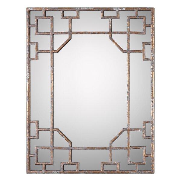 Large Gold Framed Mirror | Wayfair