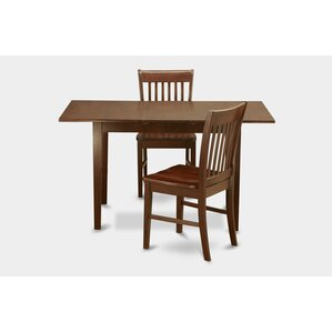 Phoenixville 3 Piece Dining Set by Three Posts