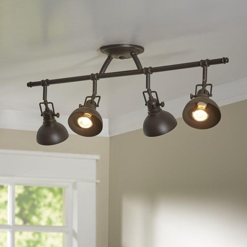Beachcrest Home Dollinger 4 Light Semi Flush Mount Reviews
