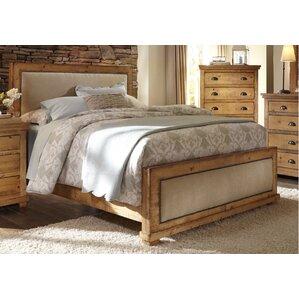 Assya King Upholstered Panel Bed by Lark Manor
