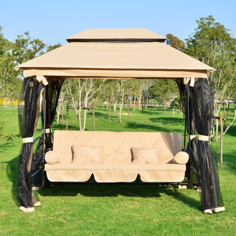 Debora Patio Porch Swing : porch glider with canopy - memphite.com