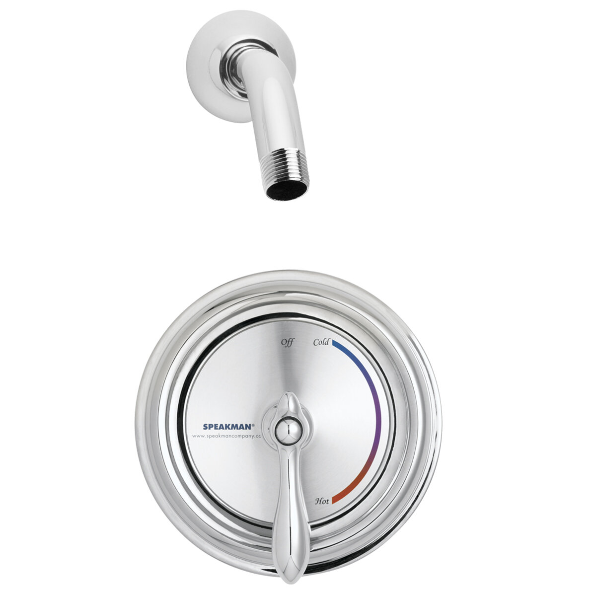 Speakman Sentinel Mark Ii Thermostatic Shower Faucet With Valve And