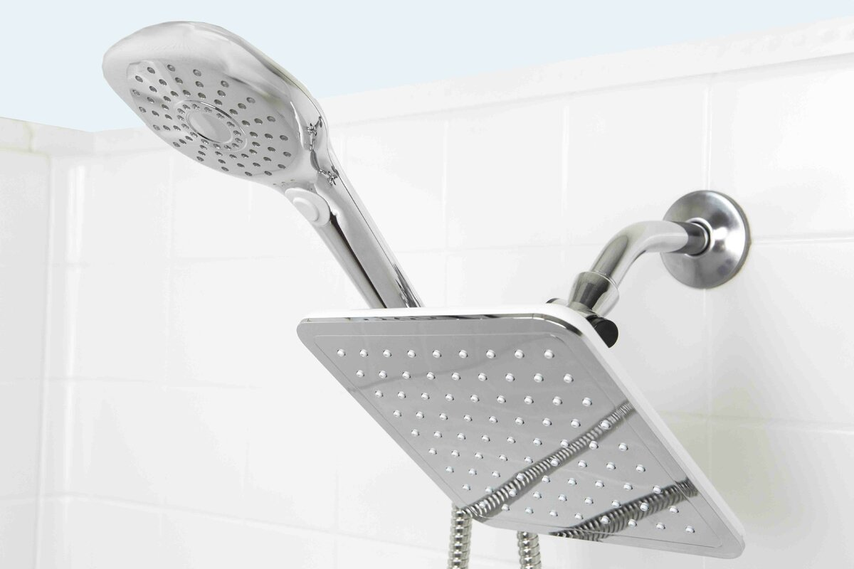 rain shower head with wand.  https secure img2 fg wfcdn com im 11589119 resiz