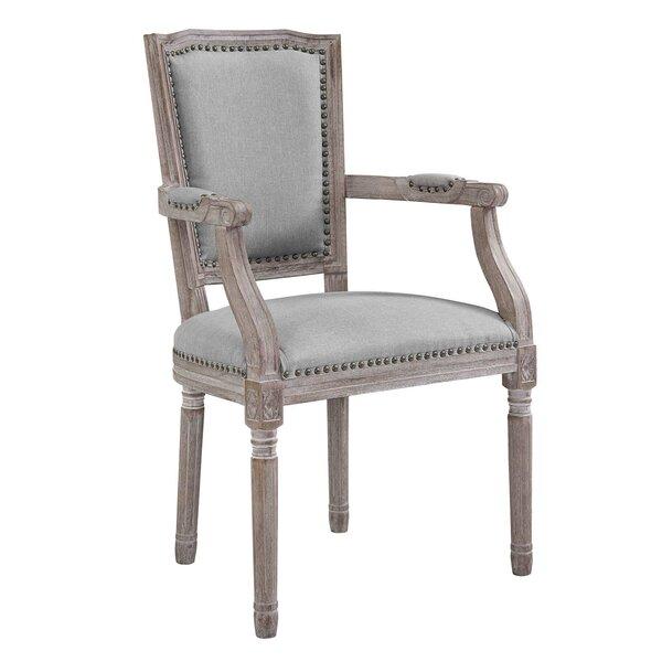 Varnado Vintage French Upholstered Dining Chair | Wayfair - Ophelia & Co. Varnado Vintage French Upholstered Dining Chair Wayfair