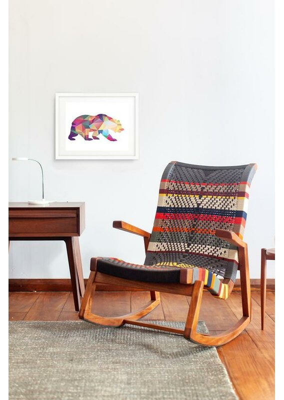 Masaya Amp Co Amador Rocking Chair Wayfair