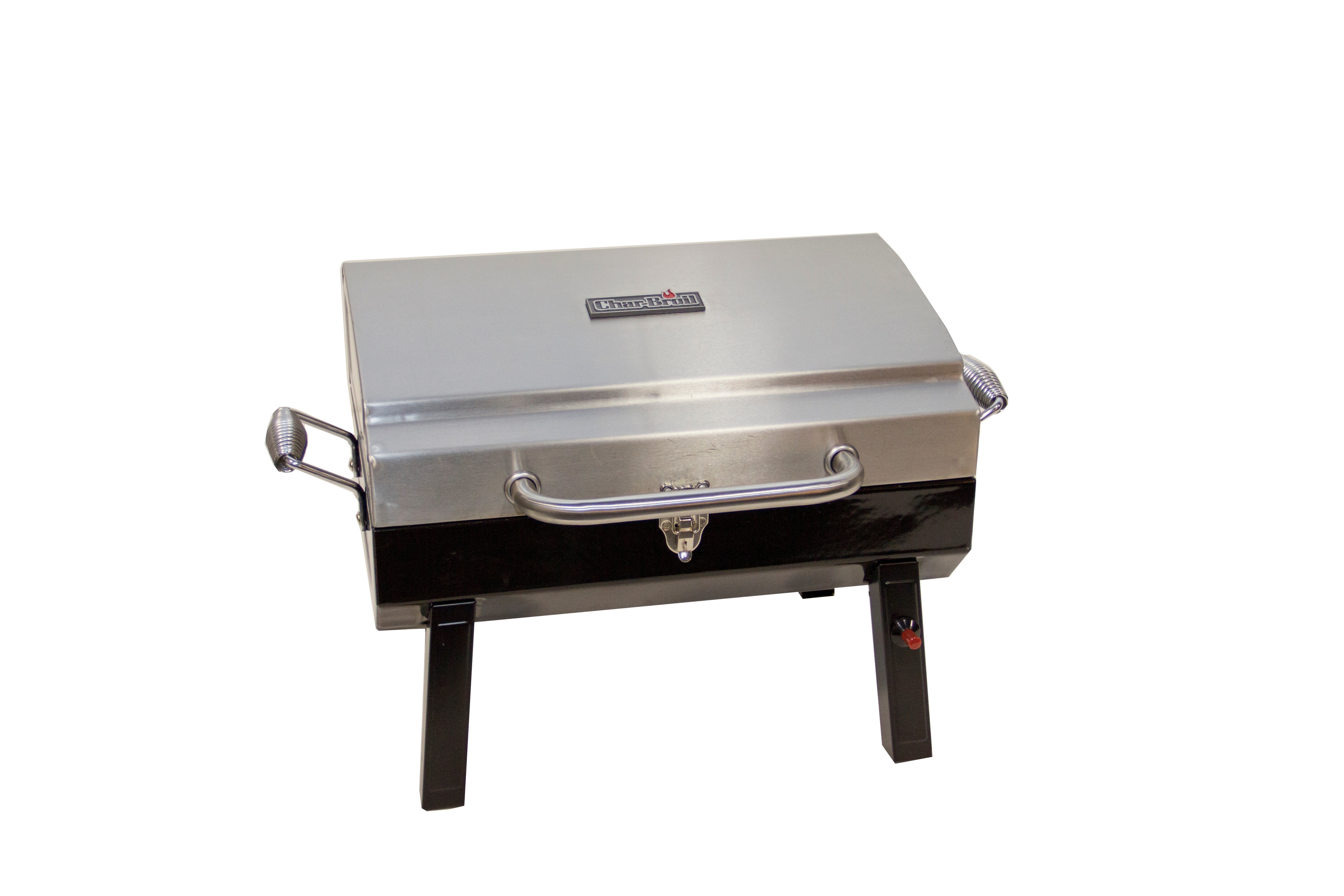 CharBroil Deluxe 1 Burner Portable Propane Gas Grill U0026 Reviews | Wayfair
