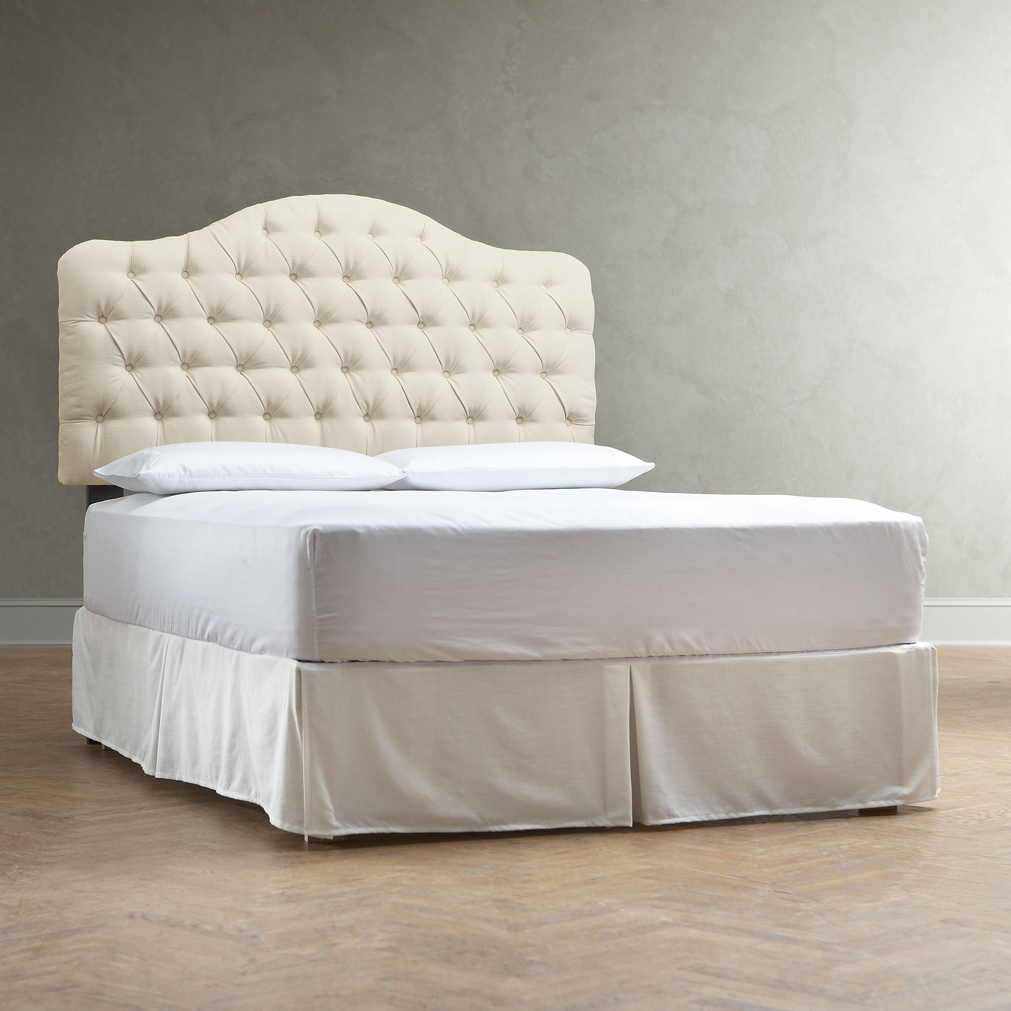 garden headboard baldwin park shipping free madison today upholstered slipcovered product home overstock