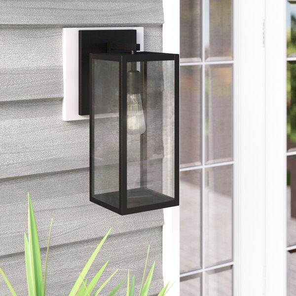 Wrought Studio Rettig 1 Light Outdoor Wall Lantern