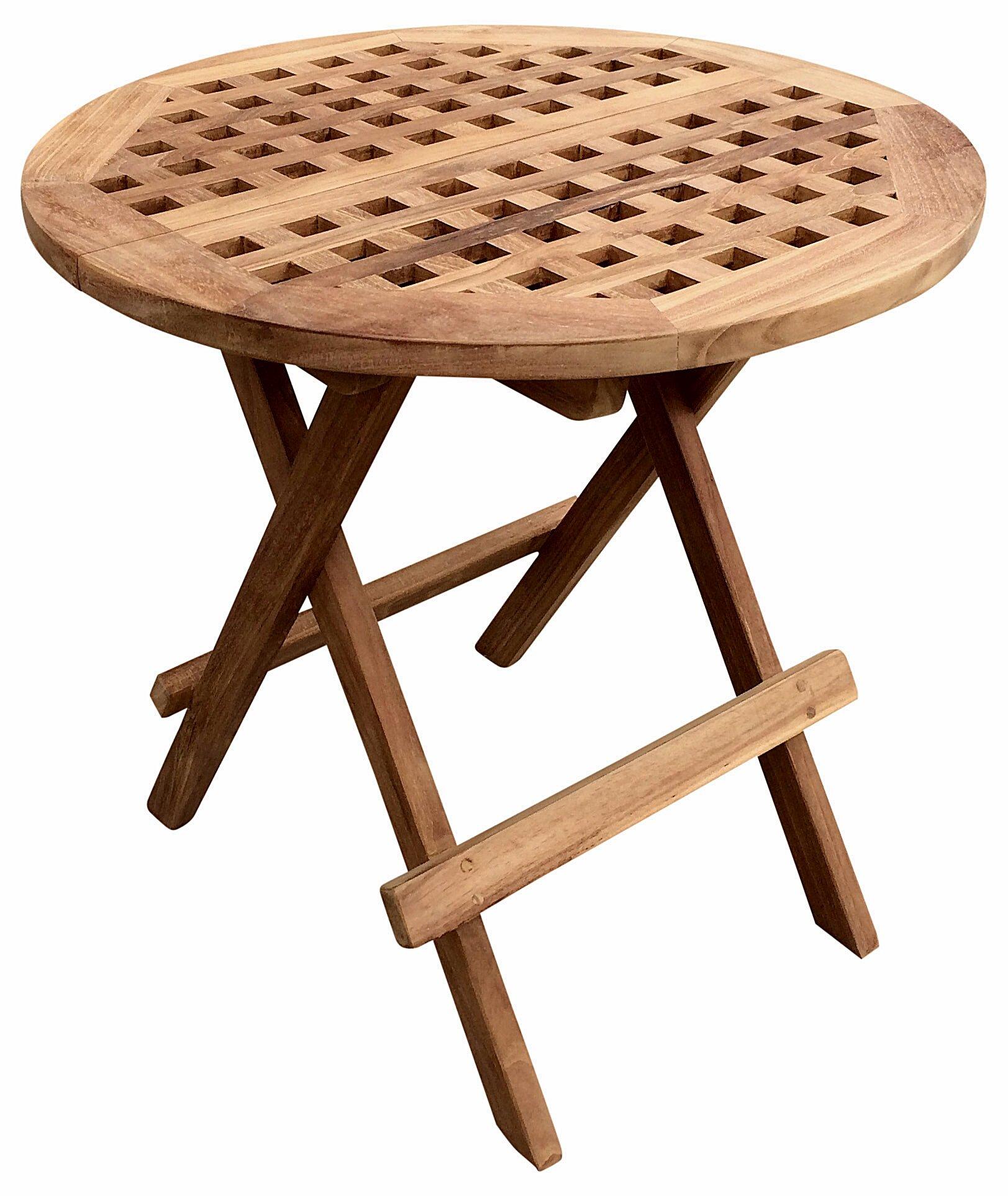 Marvelous Round Teak Folding Picnic Table Download Free Architecture Designs Lectubocepmadebymaigaardcom