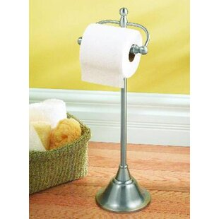 Sage Free Standing Toilet Paper Holder