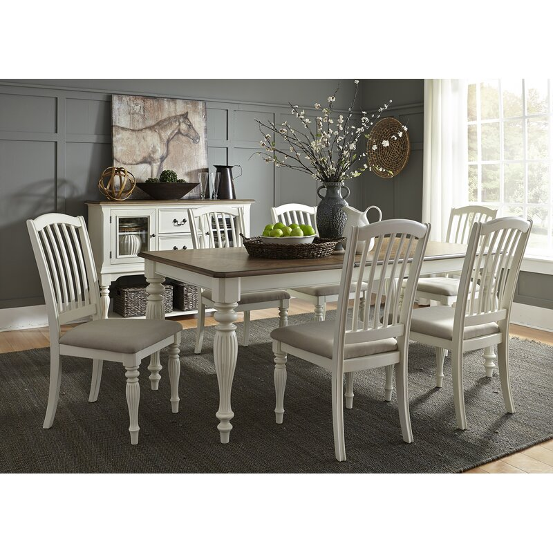 Birch Lane Rollins Extending Dining Table: Cambrai Extendable Dining Table & Reviews
