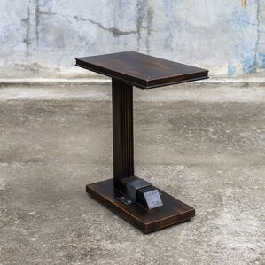 Citlali Industrial End Table by Red Barrel S..