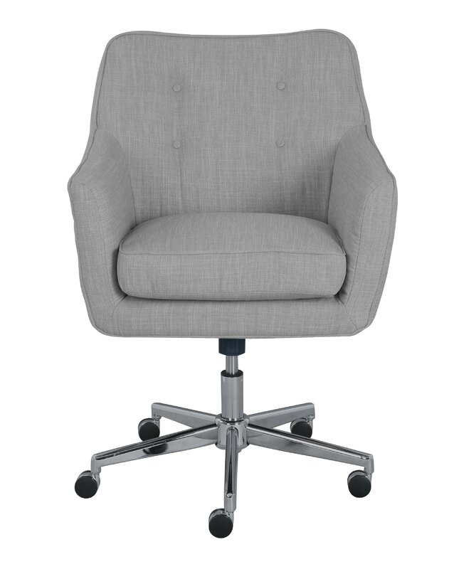 armless wood office chair with wheels. serta ashland mid-back desk chair armless wood office with wheels s