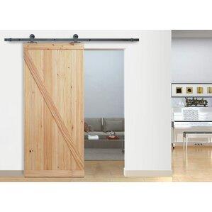 top mount wood interior barn door - Barn Doors For Homes