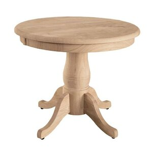 round pedestal end table - Foyer Round Tables