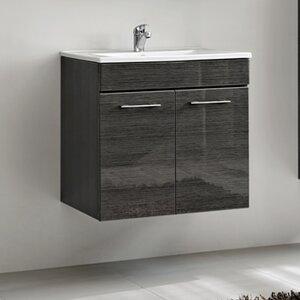 Belfry Bathroom 60 cm Wandmontierter Waschtisch Barley