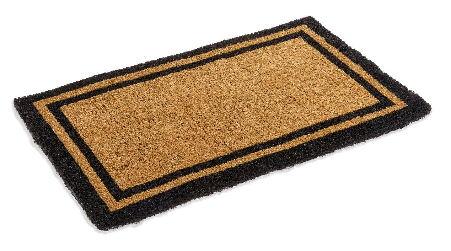 Darby Home Co Alleffra Border Doormat & Reviews | Wayfair