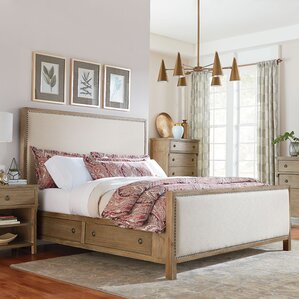 Grimaud Upholstered Storage Panel Bed by Lark Manor