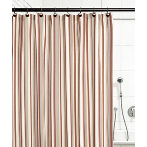 tan striped shower curtain. Jaden Stripe Shower Curtain Striped Curtains You ll Love  Wayfair