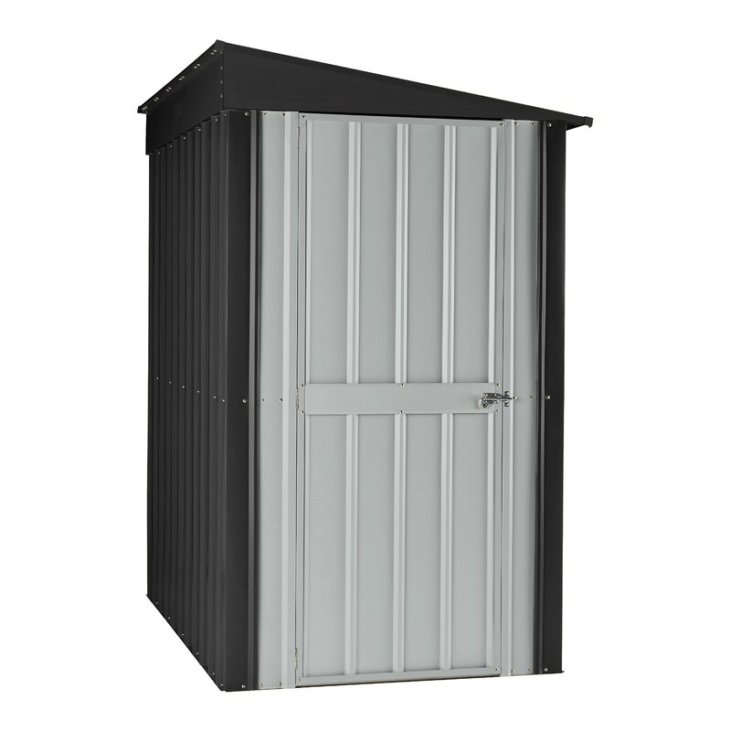globel 3 ft 9 in w x 5 7 d metal lean to tool shed - Garden Sheds 5 X 9