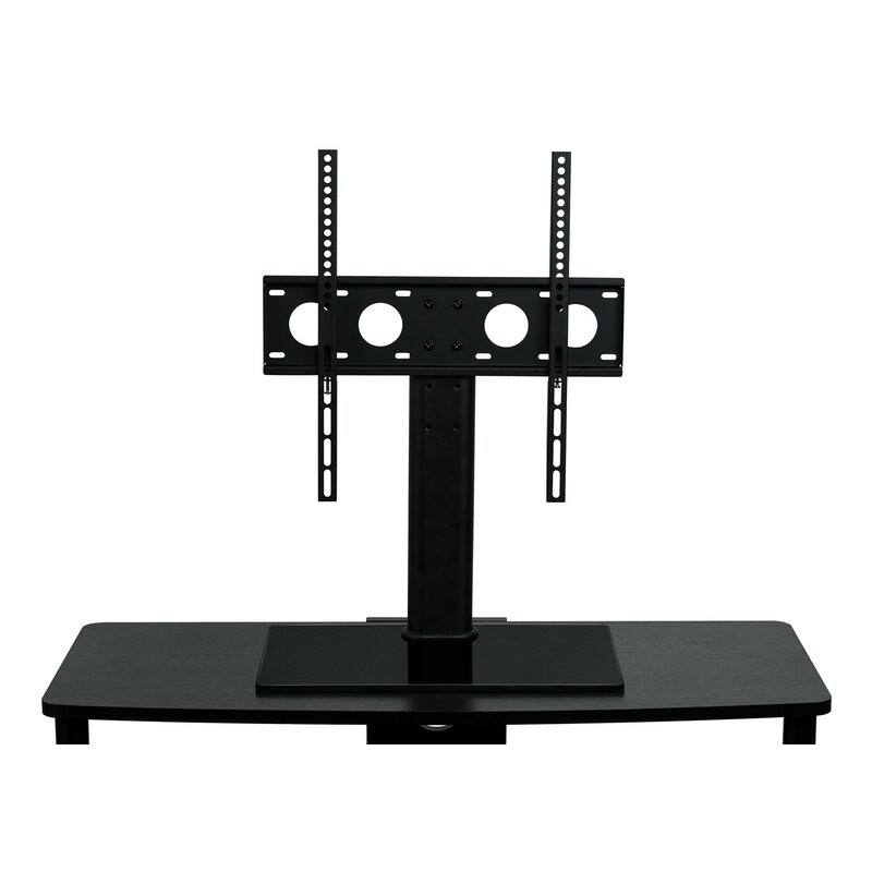 mount it tv stand universal table top flat screen television base fixed desktop mount 32 55. Black Bedroom Furniture Sets. Home Design Ideas