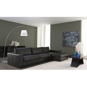 Nightfly Leather Sectional by Rossetto USA